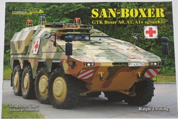 San-Boxer, GTK Boxer A0, A1 and A1+ sgSanKfz, by Ralph Zwilling